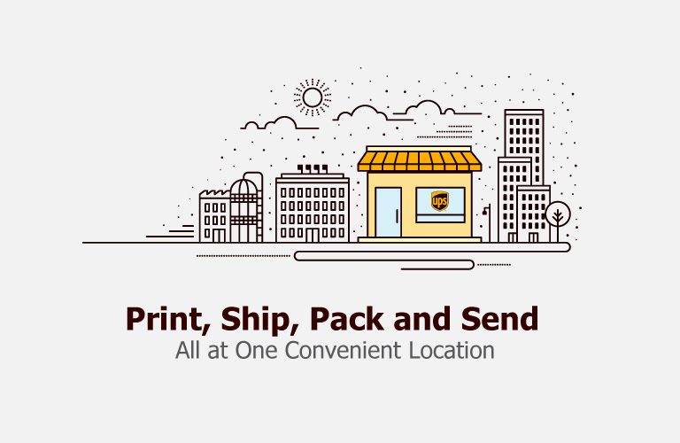 Print, Pack, Ship, and Send.